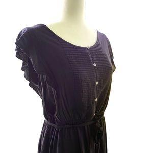 Loft • Flutter Sleeve • Dress • Sz L